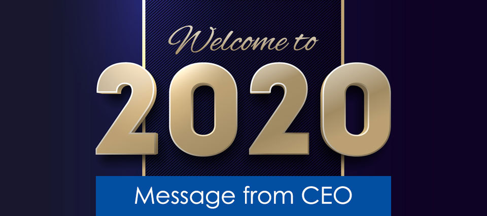 New Year Greeting from CEO